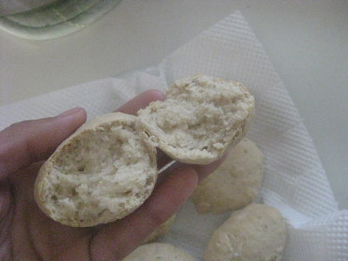 素朴な豆腐パン